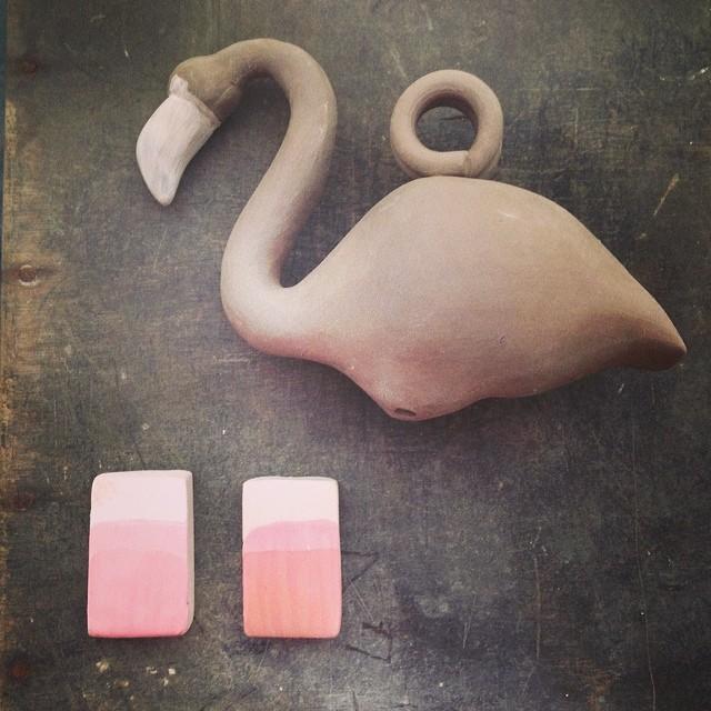 #glazetest #flamingo for @lizzy_kelly & @dean83mac