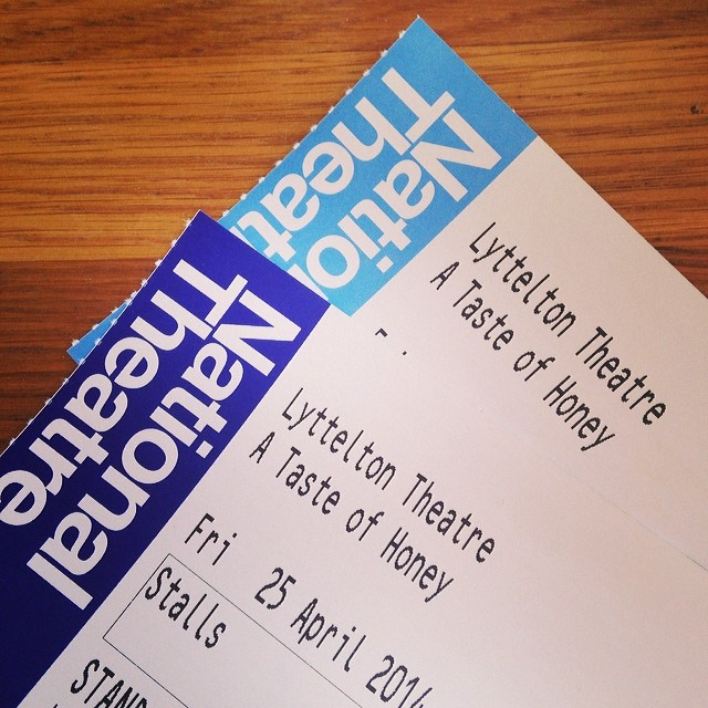 @missdmore our tickets are here!!! #tasteofhoney #nationaltheatre