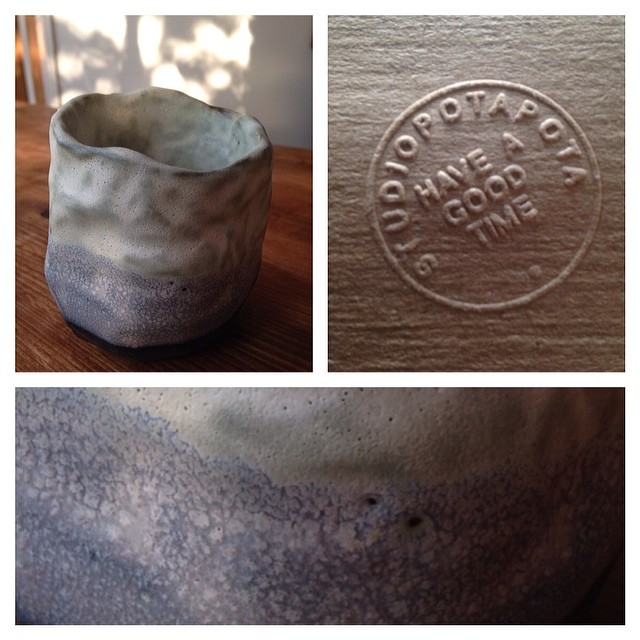 New pot from #studiopotapota on sale in @anthemstore #ceramics