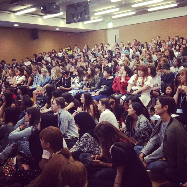 New crop of students today #welcome #lecture
