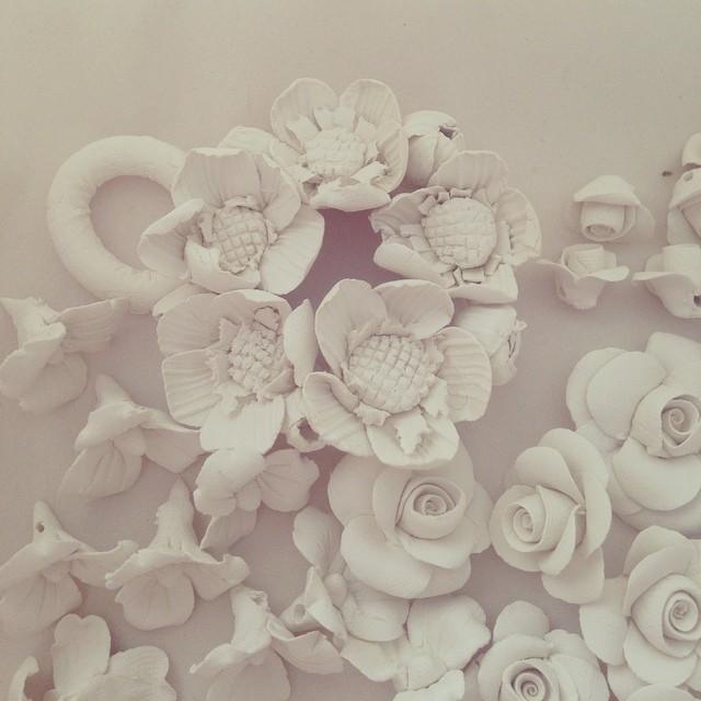 #porcelain #flowers #blooms #ceramics