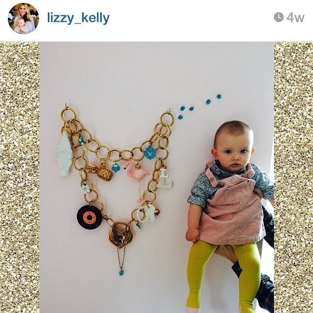 Gorgeous regram from @lizzy_kelly . At last- a picture that's shows scale. She's perfect. #charmbracelet #ceramics