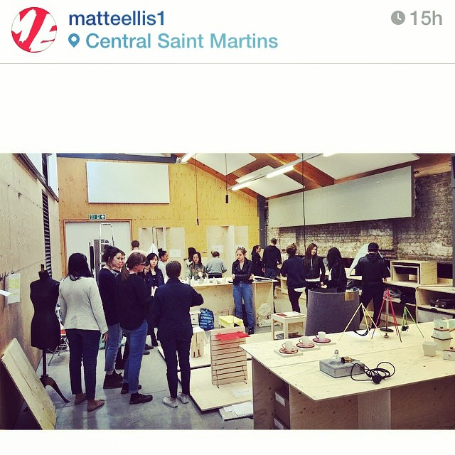 Regram from @matteellis1 Crazy busy day setting up the 3DDA #CSM #FAD final show. Student's work is as brilliant as ever!